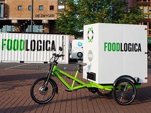 ამსტერდამში მომხმარებლამდე პროდუქტი ელექტრო ველოსიპედებით მიაქვთ