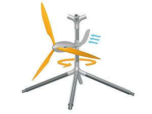Windflock მოდულური ქარის გენერატორები ლეგოს პრინციპზე