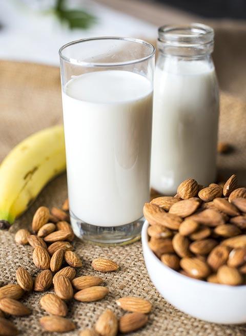 ნუშის, რძე, ზეთი