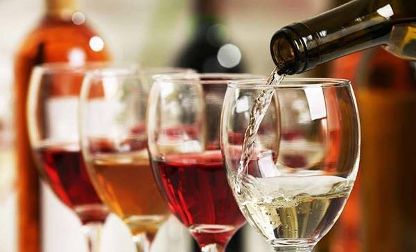ღვინო, ბრენდი, სპირტი, სტატისტიკა