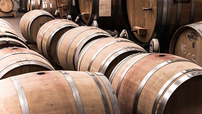 ღვინის, მუხის, კასრში, დავარგება
