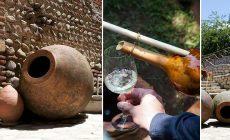 ქვევრის ღვინის იდენტობა, ქვევრის დამზადება, ღვინის დაყენება